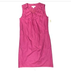 Coldwater Creek Small 4 Pink Short Shift Dress NEW